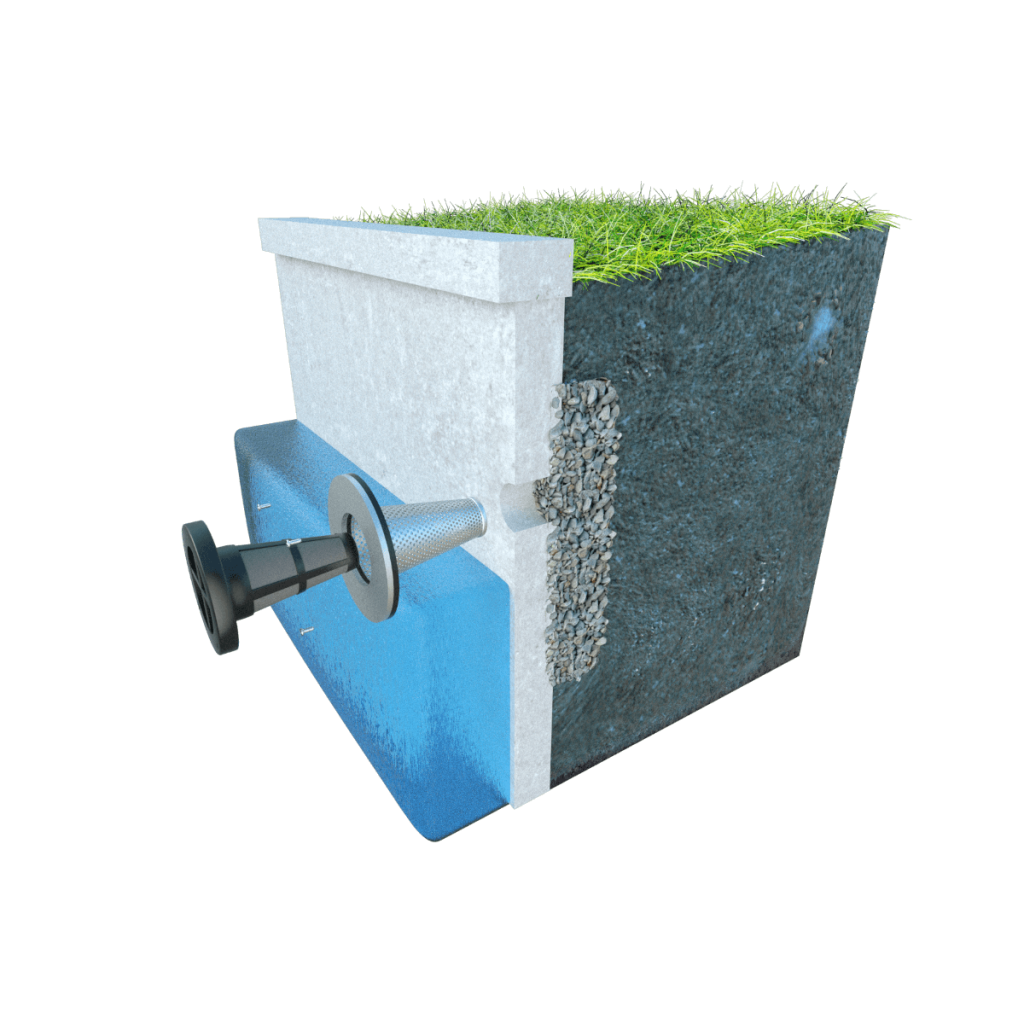 Maintainable Weep Hole Filter in Concrete Seawall