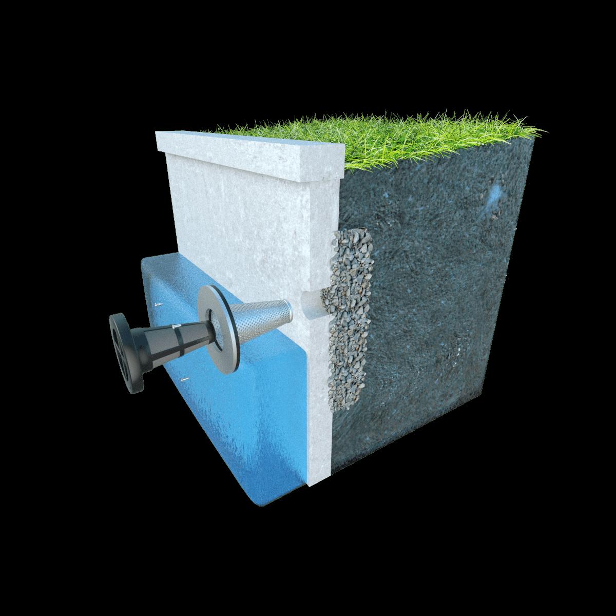 Concrete Seawalls - Jet Filter System