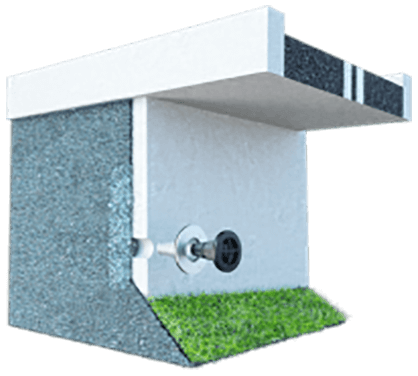 Weep Hole Filter Retaining Wall Drainage Amp Soil Filtration
