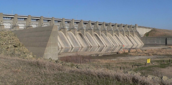 Dam Wing Wall
