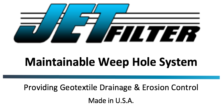 Reduce Maintenance and Risk of Wall Failure - JET Filter System