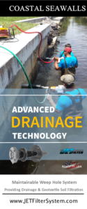 Coastal Seawall Drainage Solutions