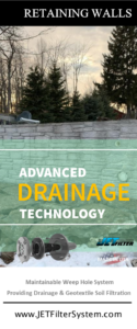 Retaining Wall Drainage Solutions